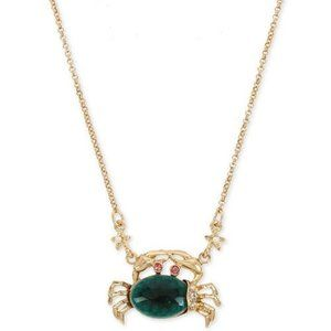 Betsey Johnson Crab Necklace